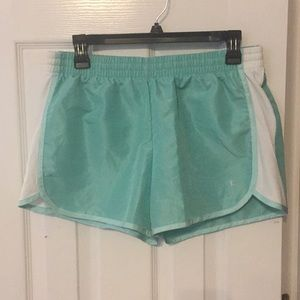Turquoise active shorts